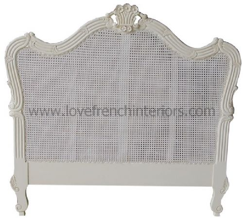 Louis Headboard in Rattan